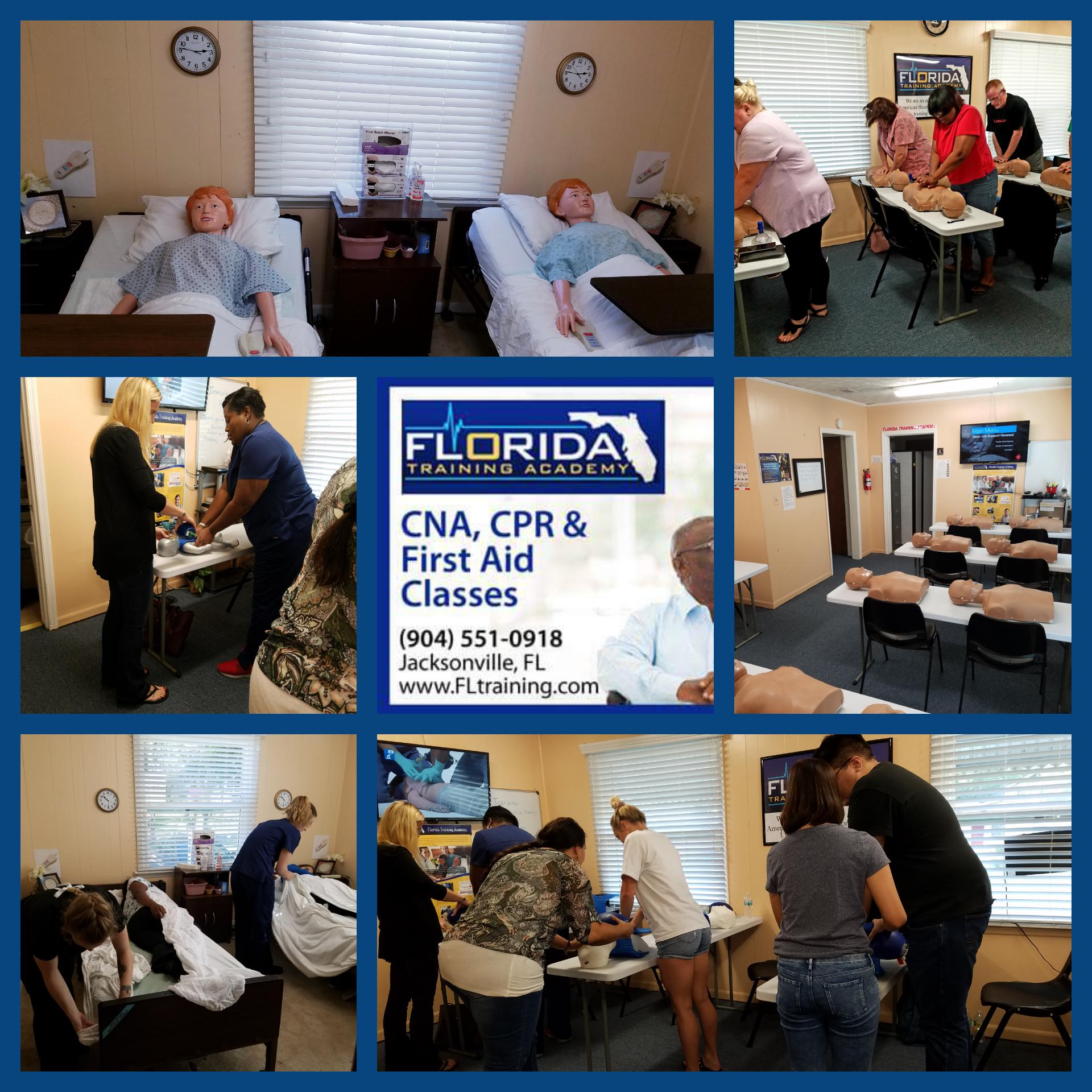 American Heart CNA CPR BLS ACLS and Instructor Classes in Jacksonville Florida