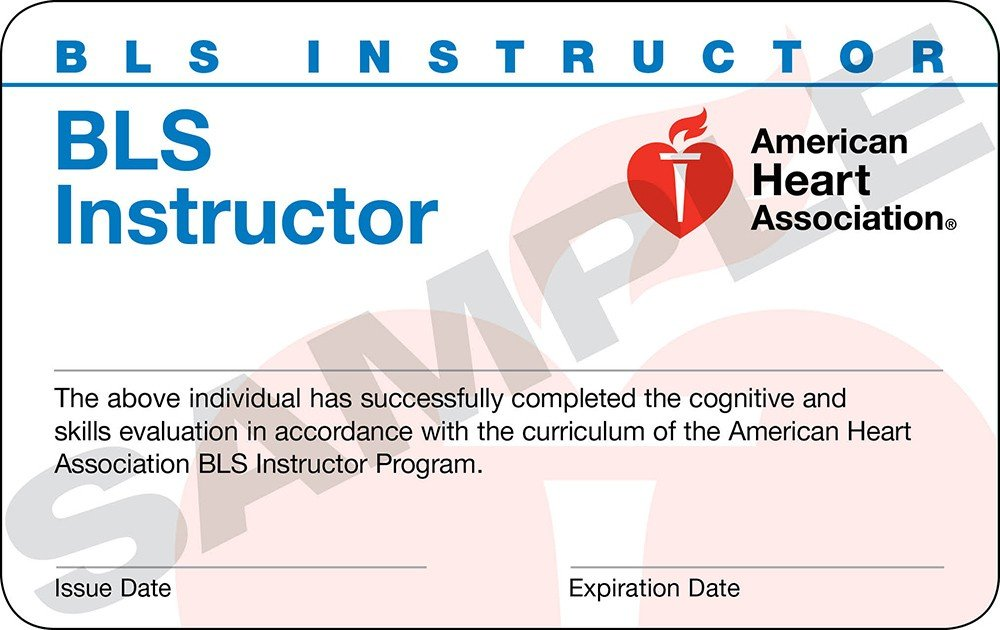 American Heart Association BLS and CPR Instructor Classes - Accepting New Instructors