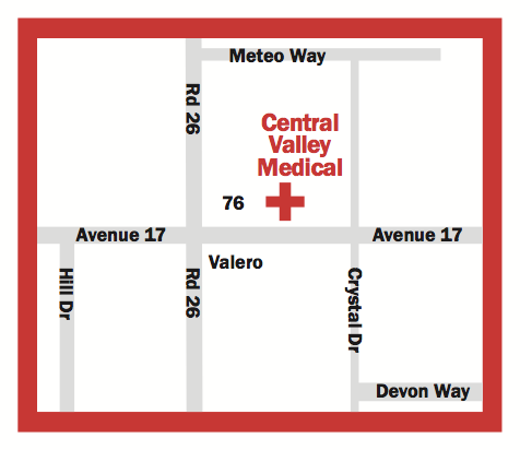 Central Valley Medical Location